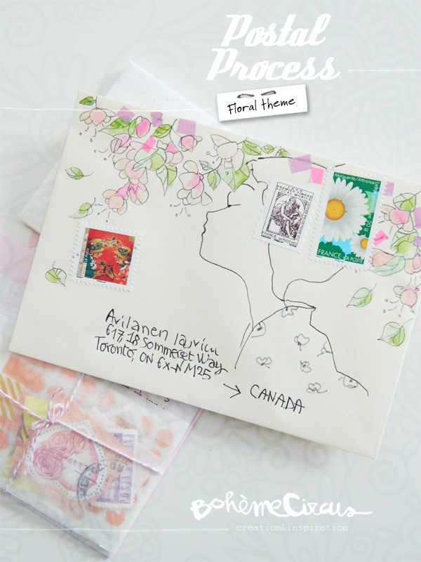 boheme circus - papiers créatifs - creativity - bohème circus- happy mail