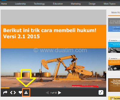Cara download dokumen dari slideshare.com