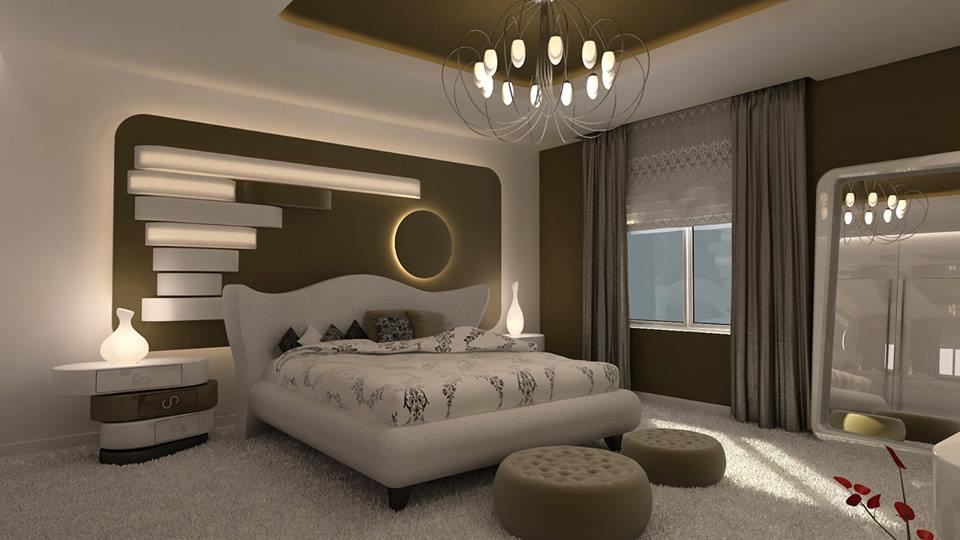 Awesome modern master bedroom decorating ideas 2016 for for Model decoration maison