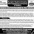 Punjab Health Initiative Management Company (PHIMC) Jobs