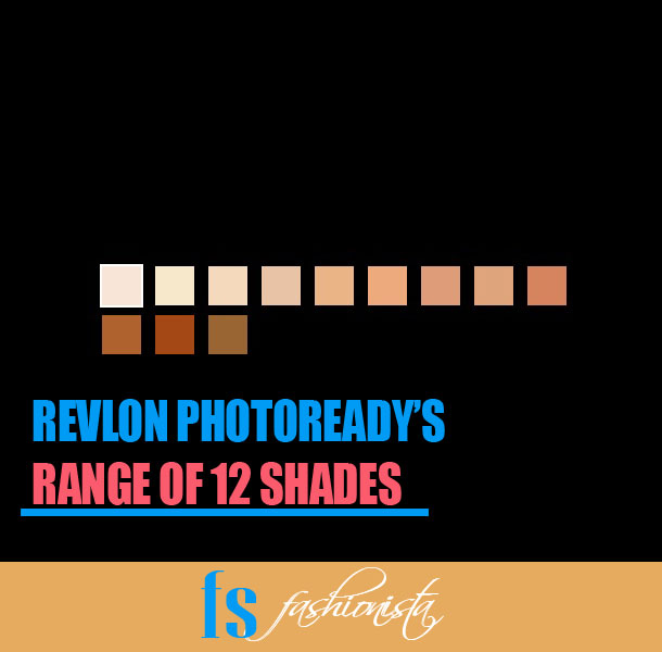 Revlon Photoready foundation shades