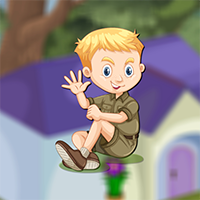 Play AvmGames Cute Wise Boy Rescue