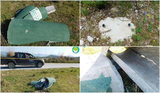 Ηγουμενίτσα: Νέα κρούσματα βανδαλισμών στο Δρέπανο και στα Στενά Αχέροντα (+ΦΩΤΟ)