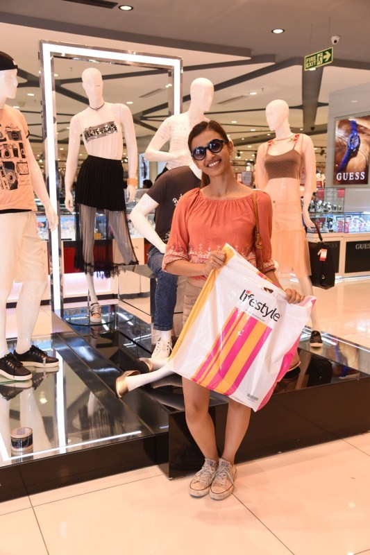 Radhika Apte Spotted at Lifestyle Showroom
