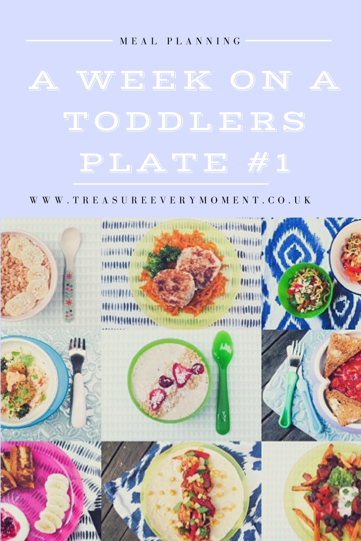 MEAL PLANNING: A week on a toddlers plate #1
