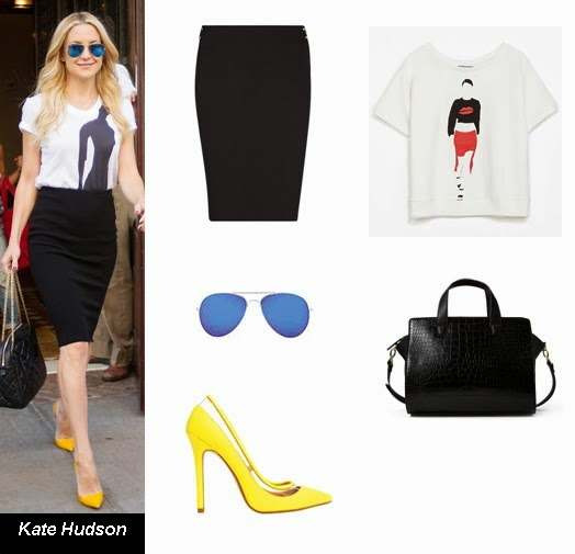 0892b168e8 Kate Hudson  Las camisetas con print se han convertido en un básico este  año