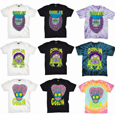 Amulet of the Bloody Goblin 10th Anniversary T-Shirt Collection by Jon Vermilyea x Mishka x Justin Ishmael