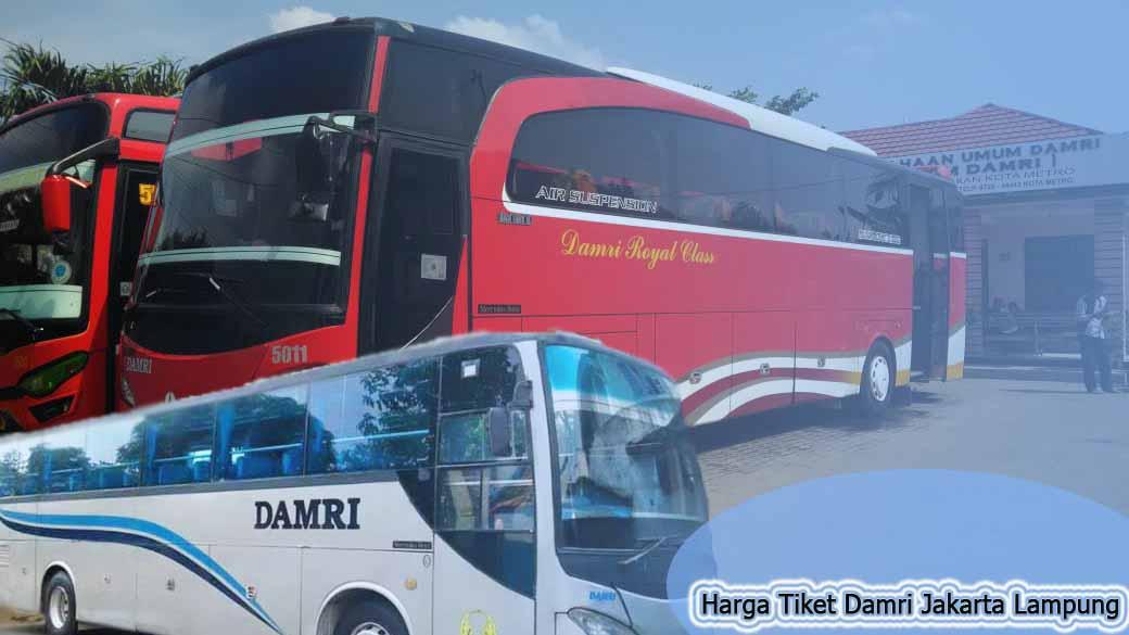 Harga Tiket Damri Jakarta Lampung Terbaru Bus Damri