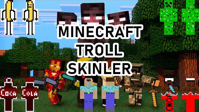 Minecraft Troll Skinler