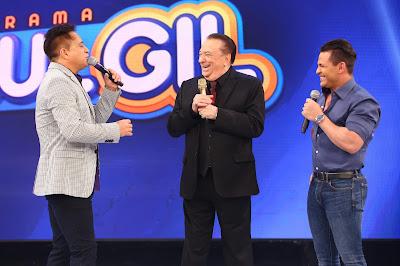 Raul com Leonardo e Eduardo Costa (Crédito: Rodrigo Belentani)