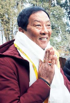 Gorkhaland Territorial Administration (GTA) chief Binay Tamang