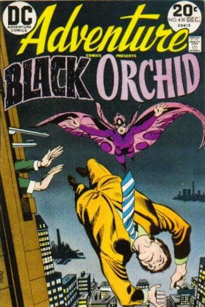 Adventure Comics #430, the Black Orchid