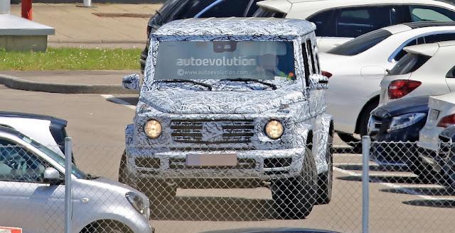 новый Гелендваген (Mercedes-Benz G-класса)