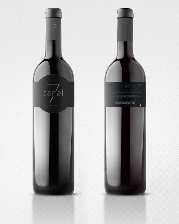 This is a graphic of Lucrative Wine Label Design Inspiration