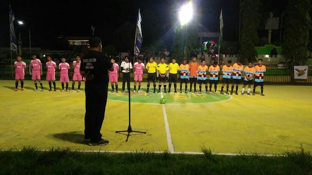 4 Tim Luar Daerah Ramaikan Futsal Tani Mulia Cup I di Soppeng