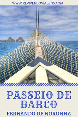 passeios de barco em noronha