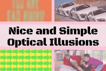 Nice and Simple Optical Illusions