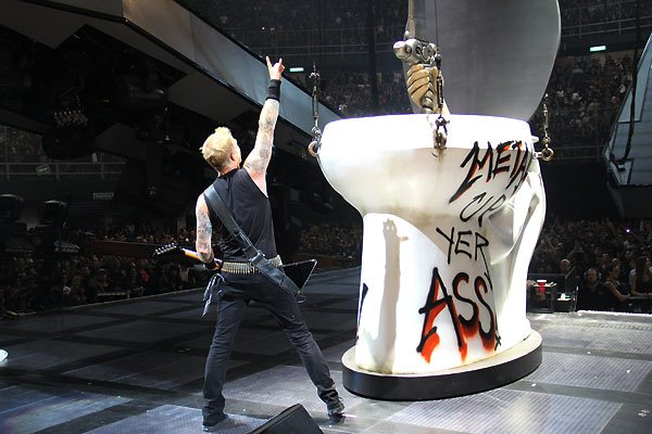 Are Metal up your ass metallica are