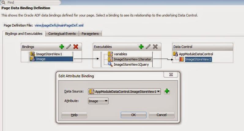 Johny's Oracle Tips: ADF: How to download a file from database in
