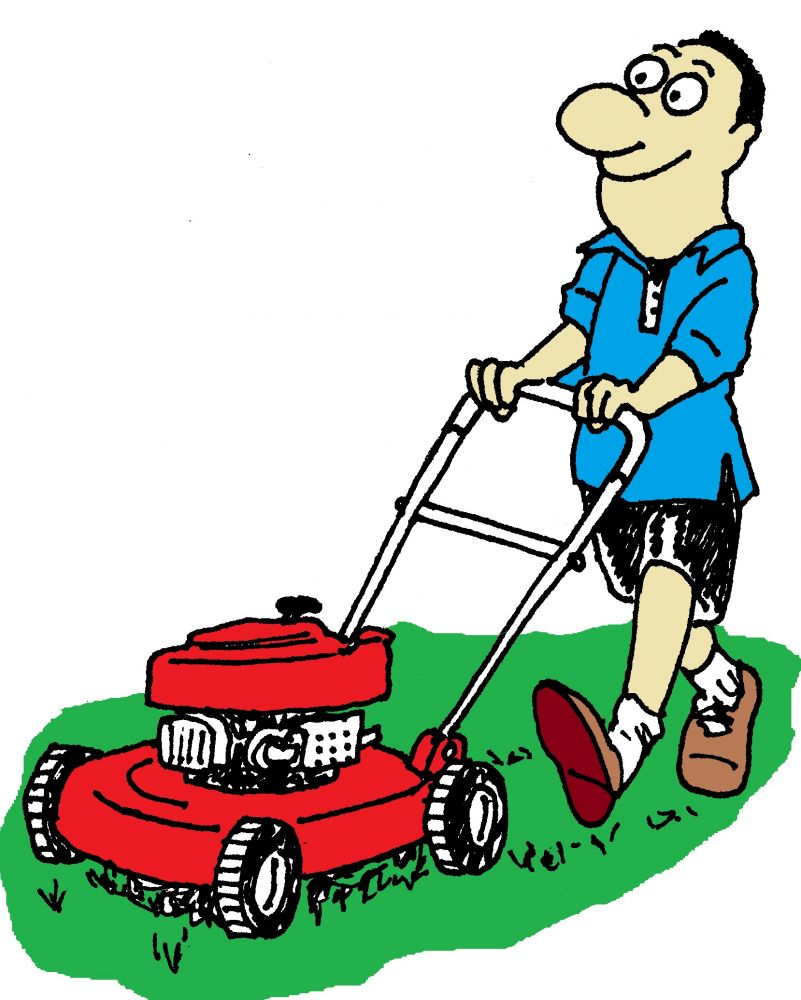 free clipart images lawn mower - photo #42