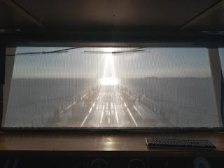Taunus II auf der Fahrt von Vlissingen nach Duisburg