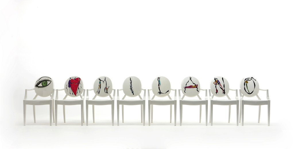 Lil 39 miss scatterbrain kartell design by milan for Love design milano