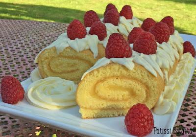 pâtisserie, recette de roulé au citron, crème citron, lemon-curd, lemon rolls, patissi-patatta