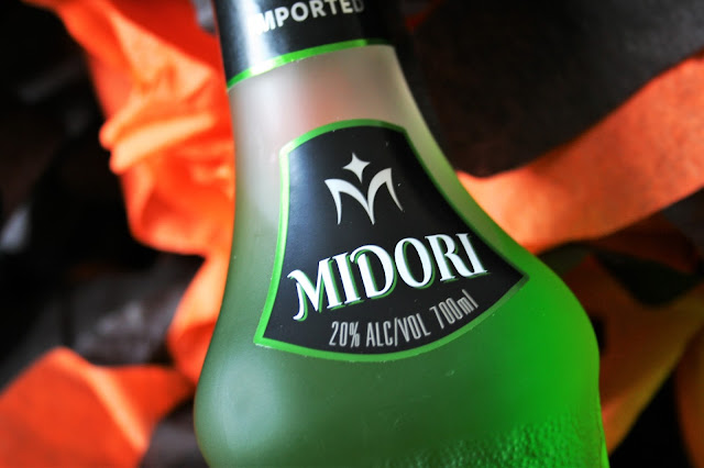 Happy Halloween with Midori, cocktail recipe