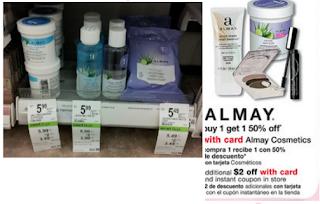 Hot Coupons Total $9/2 Almay Cosmetics Product = 2 Free Make