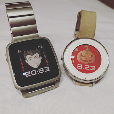 Hallowswin Halloween watchface - Pebble Time Steel / Time Round