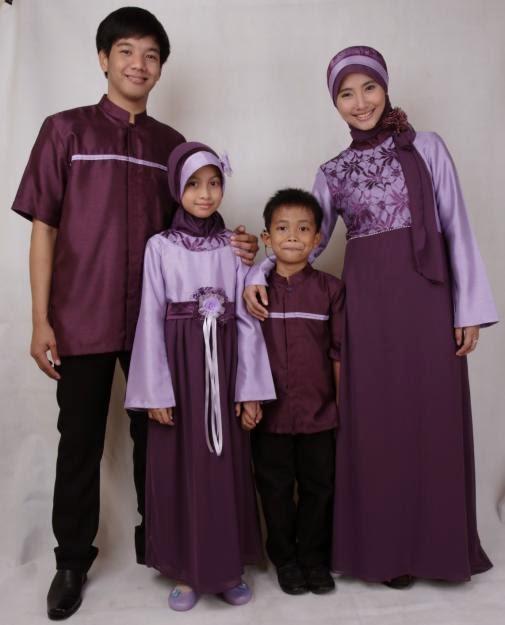 Model baju keluarga muslim seragam kembar terbaru