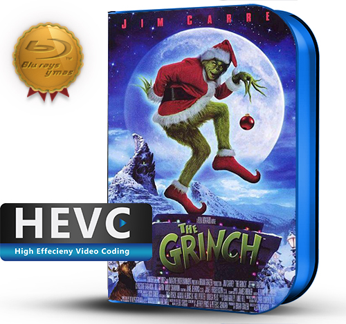 How the Grinch Stole Christmas (2000) 1080P HEVC-8Bits BDRip Latino/Ingles(Subt.Esp)(Familiar, Comedia)