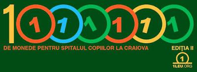 1 milion de monede pentru Spitalul Copiilor