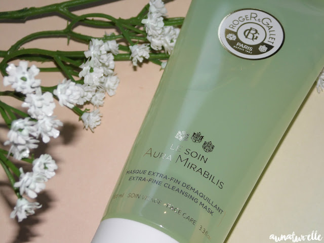 extra-fine cleansing mask aura mirabilis Roger & Gallet