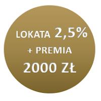 Lokata 2,5% + premia 2000 zł za konto Citigold w Citibanku