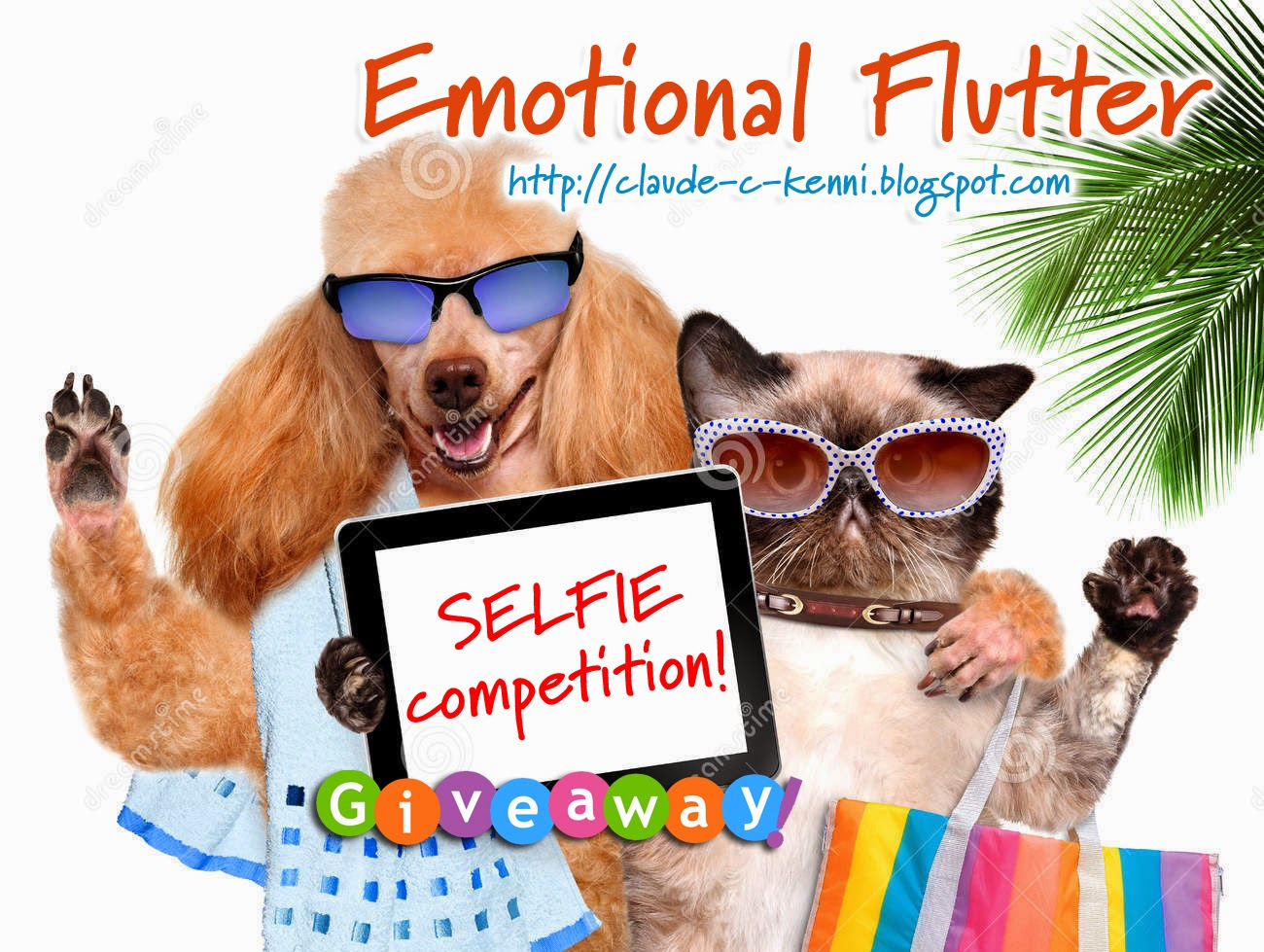 Emotional Flutter Selfie Competition GIveaway