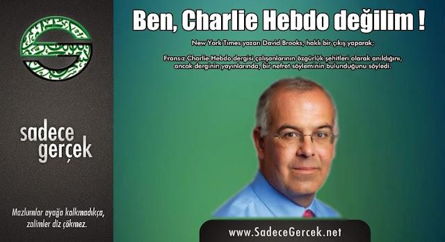 Ben, Charlie Hebdo değilim