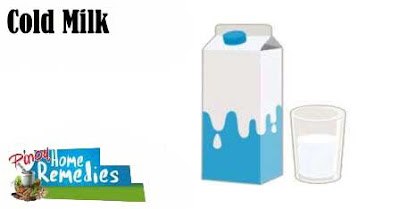 Home Remedies for Itchy Eyes: Cold Milk