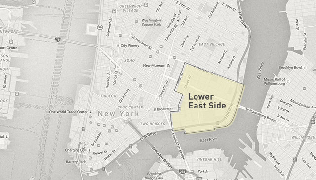 Lower East Side - New York by Cine Gratia Cinema
