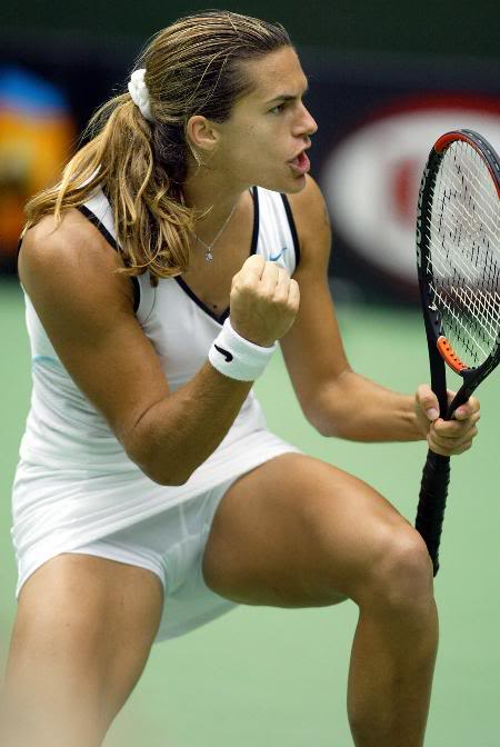 new tennis players  amelie mauresmo