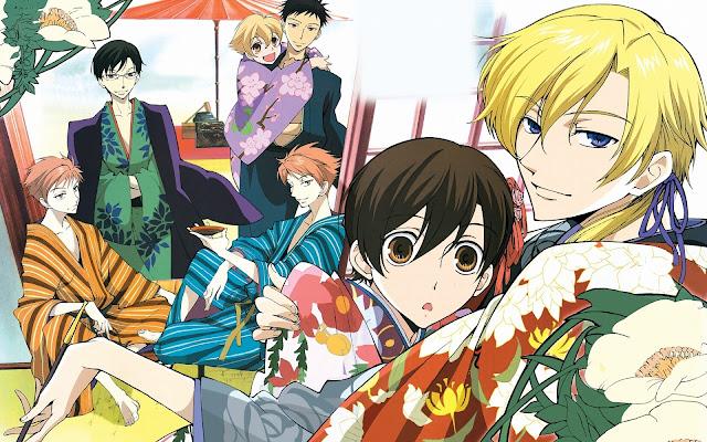 Review Anime: Ouran Koukou Host Club