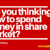 Are you thinking How to spend money in share market?