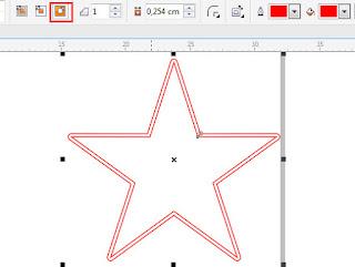 Cara Membuat Tumpul Semua Sudut Dengan Corel Draw
