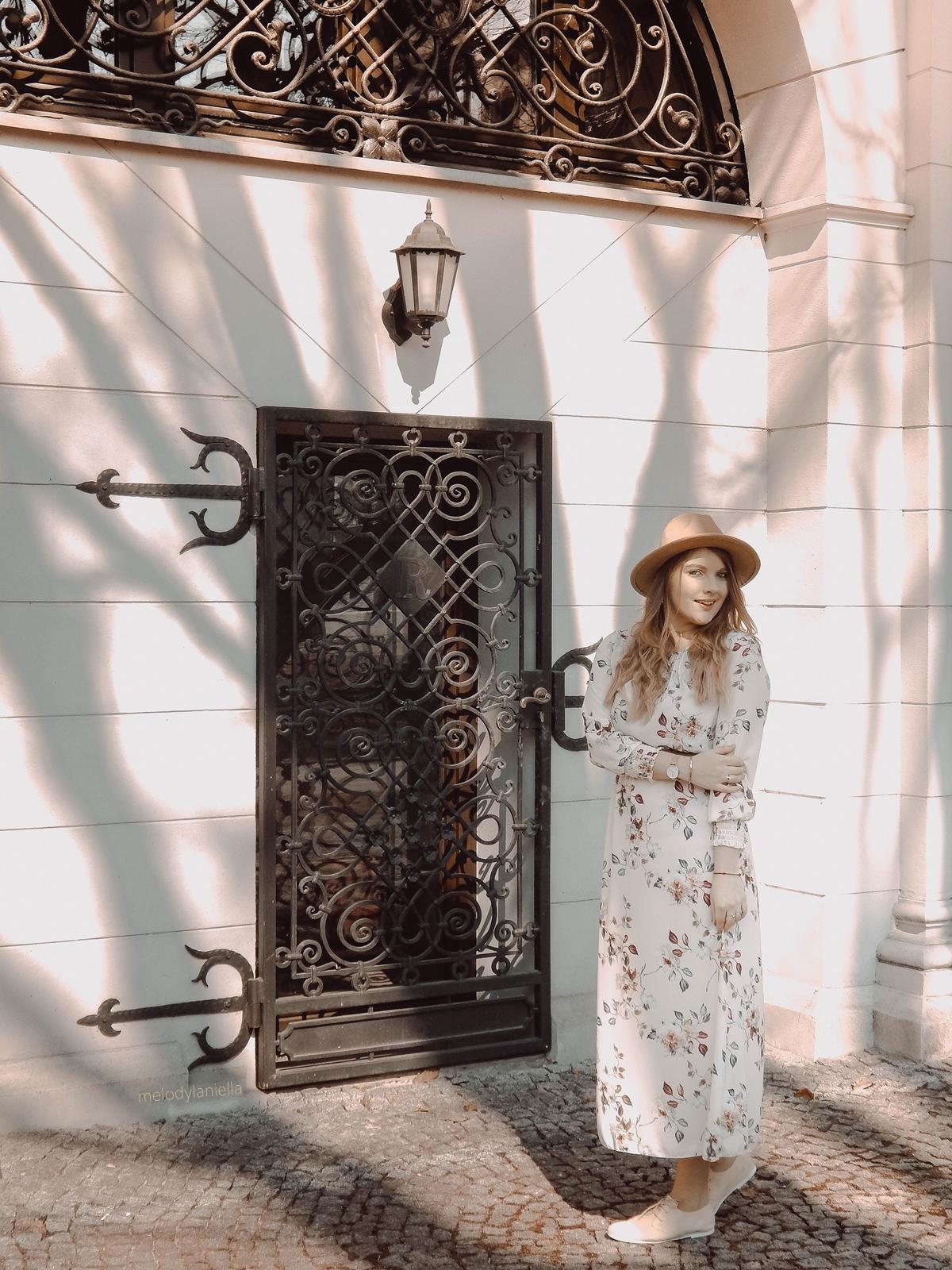 4 stylizacja boho na wesele letnie długie maxi sukienki sukienki w kwiaty