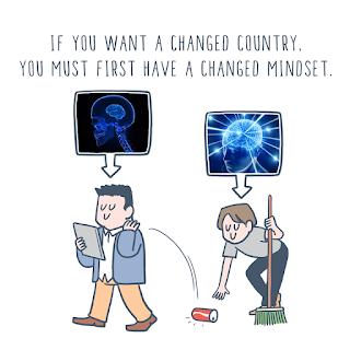 Wawasan 2020 | Mahu Maju, Sila Tukar Tabiat Terlebih Dahulu !