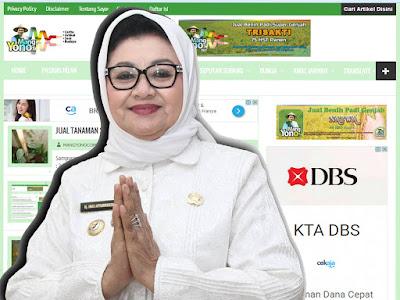 Riwayat Singkat Pendidikan  Hj. Imas Aryumningsih. SE