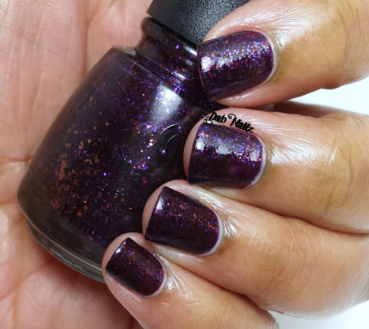 China Glaze Monster Ball- Partial Review and Swatch