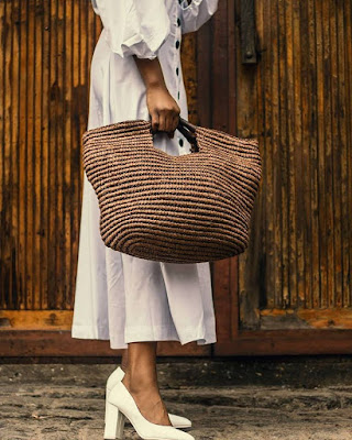 woman with a bag