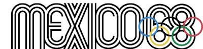 Mexico 1968 Olympic Logo