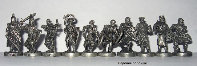 солдатики ландрин ледовое побоище
